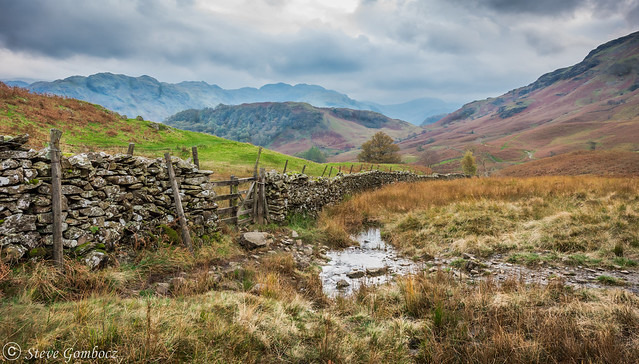 The path to Rosthwaite in Borrowdale.