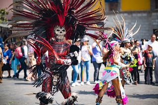 Aztec Dancers at Catedral Metropolitan | by nan palmero