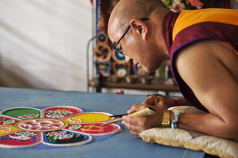 Tibetan Monk Mandala_Photo BenTupas