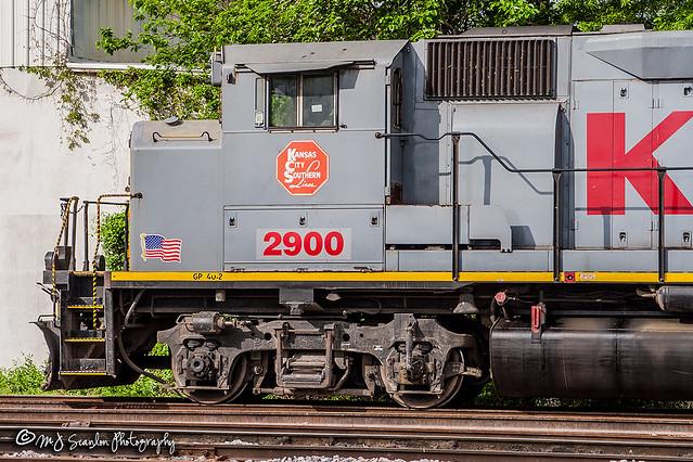 KCS 2900 | EMD GP40-2LW | KCS Artesia Subdivision