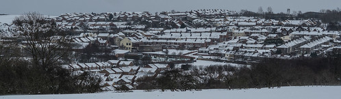 Sacriston, snow covered. | by CWhatPhotos