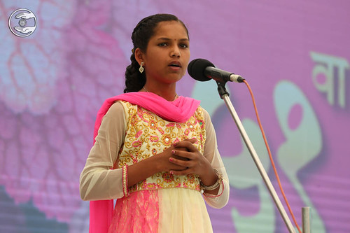 Sanika Sangale from Ahmednagar, expresses her views