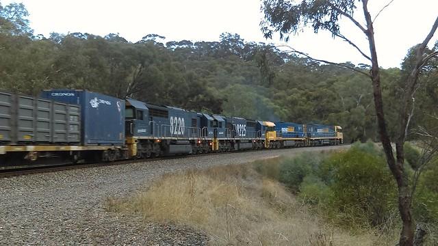 5AM5 at Forster's corner belair national park NR60, NR83, 8225, 8220