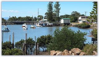 Tooradin Inlet, Western Port Bay coast.