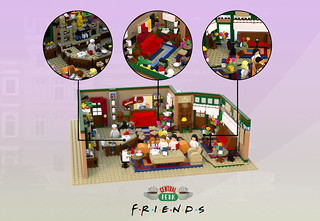 central perk - 6600 SUPPORTERS | by Afol minifigures collector