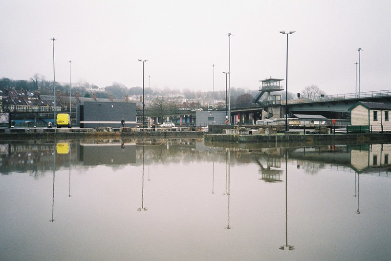 Cumberland Basin, high tide