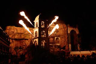 Fire Show, Phantasialand