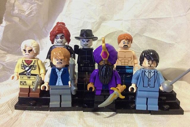LEGO CUSTOM League of Extraordinary Gentlemen