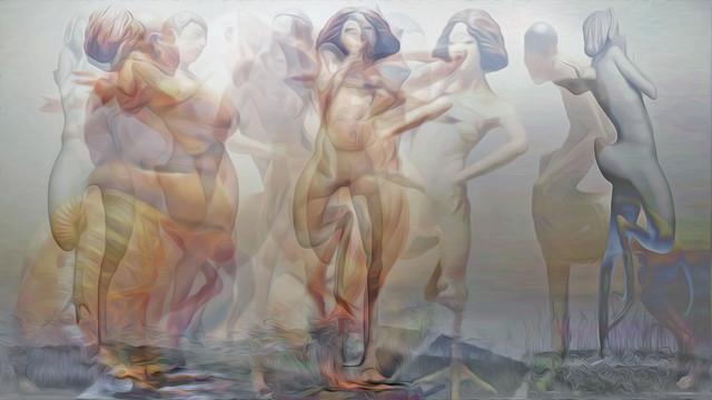 Liu Xue Hybrid Sculptures 06 Begegnung im Dampfbad