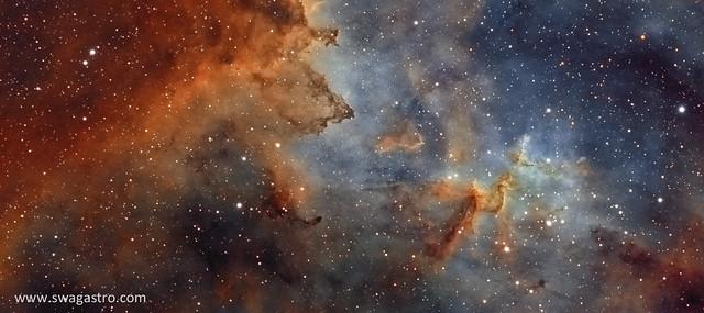 Melotte 15 - Heart of the Heart nebula