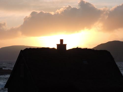 faroes sunset