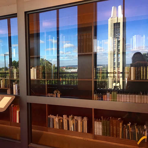Explore KU in the reflections