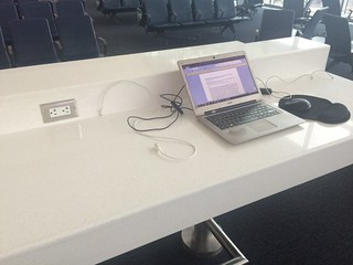 AcWri while travelling   by Raul P