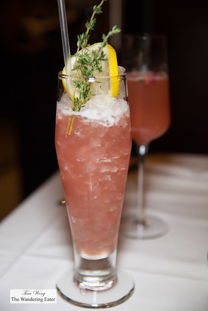 Birds of Paradise - Beefeater gin, Sotol, Bigallete Thyme, Fennel, Beet, Lemon & Egg white