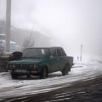 Lada / VAZ 2106 in wintery Noyemberyan