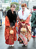 Japanese Kimono on Coming of Age Day 2018