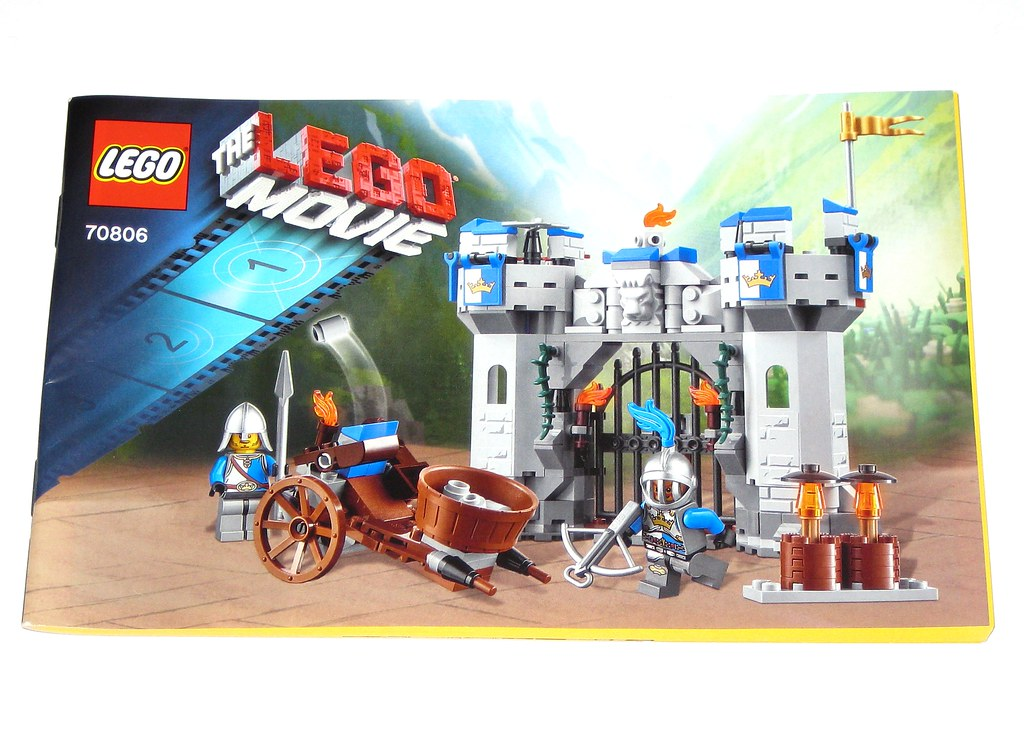 Lego 70806 The Lego Movie Castle Cavalry Instructions Inst Flickr