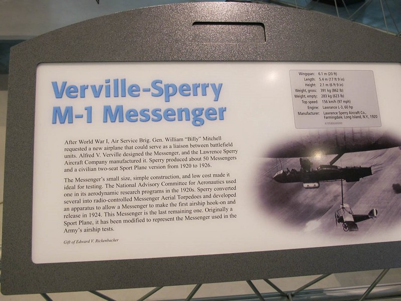 Verville-Sperry M-1 Messenger 9