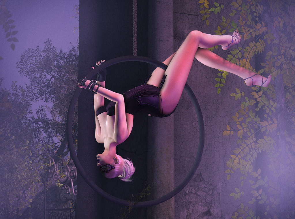 New Pose Expressive Bento Poses Aerial Hoop Pose 3 Www Flickr