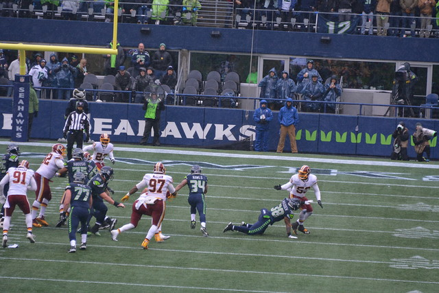 2017 Seahawks vs Redskins game