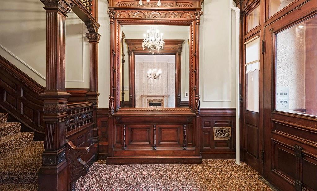 brooklyn new york old brownstone foyer victorian woodwork flickrbrooklyn new york old brownstone foyer victorian woodwork by techpro12