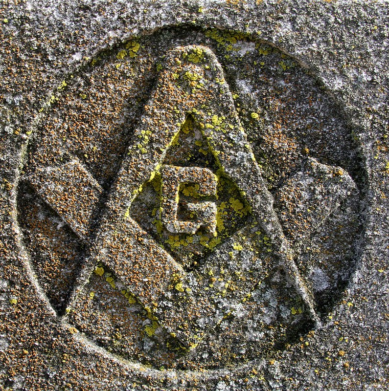 """Masonic """"Compass & Square"""""""