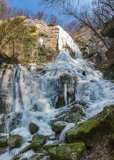Eibachfall during winter