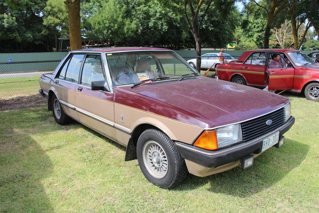 1980 Ford Xd Fairmont Ghia Sedan