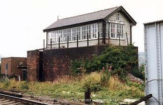 LNER Tinsley East Junction SB GCR 27th July 1984