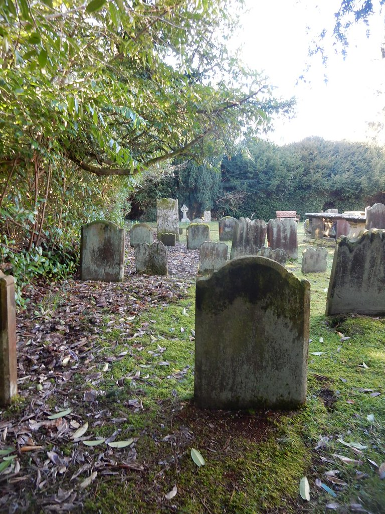 Churchyard, Ardingley Balcombe Circular (winter)