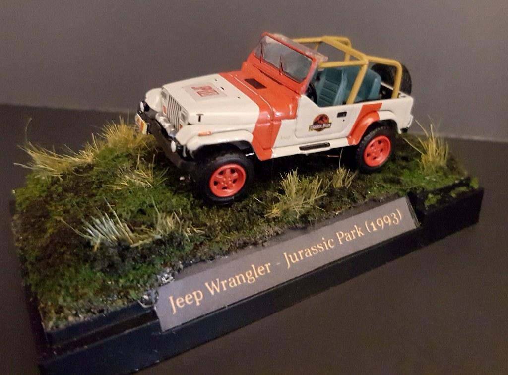 040acb31e1 ... Greenlight Custom Jurassic Park Jeep Wrangler Custom Decals