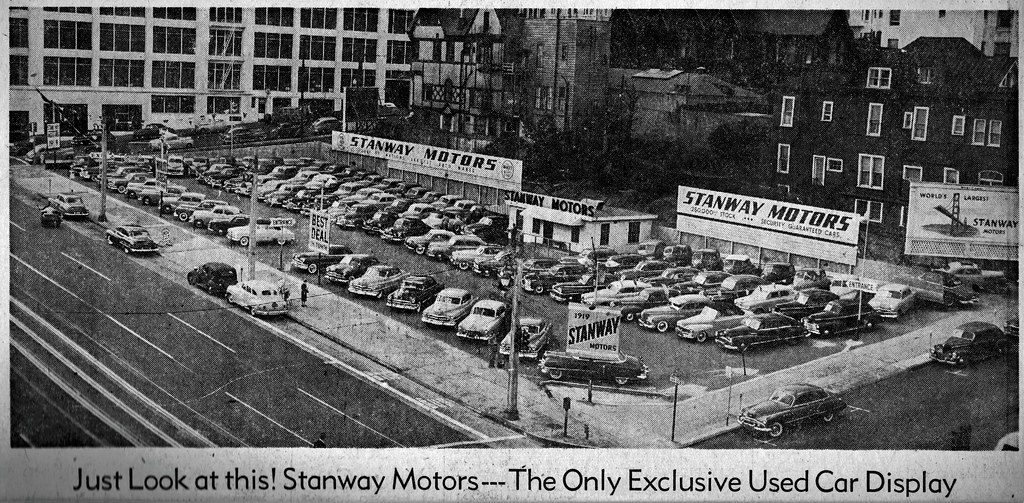 Used Cars San Francisco >> Stanway Motors Used Cars San Francisco Feb 1952 Flickr