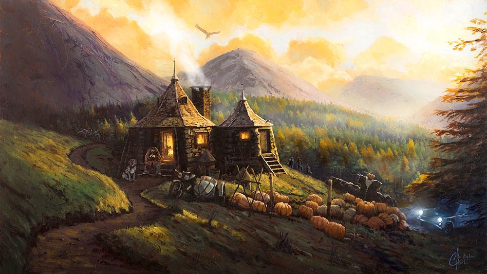 Harry Potter Hut