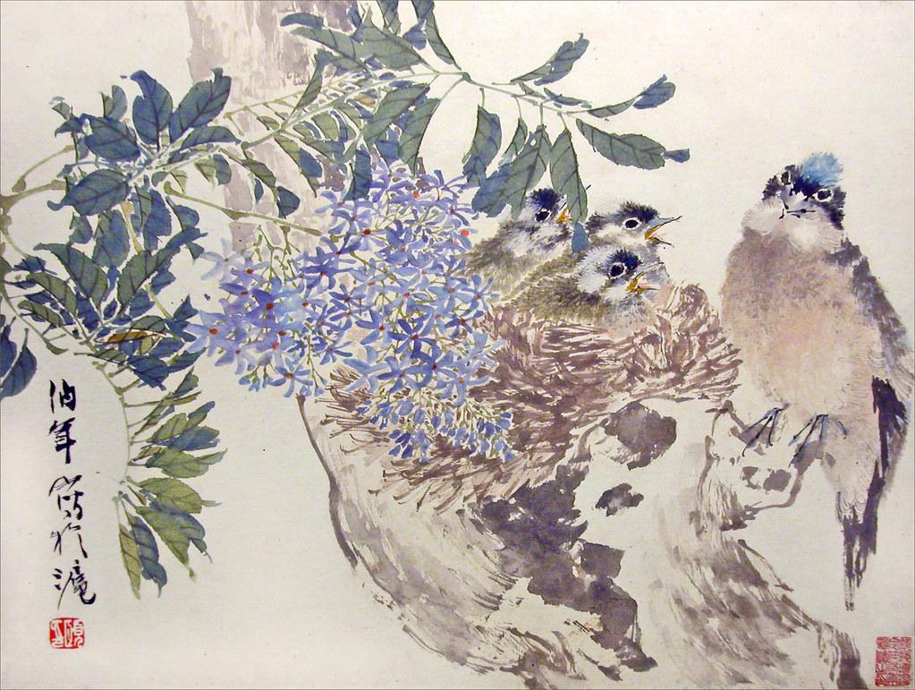 Oiseaux de Ren Yi (Shanghai Museum, Chine)