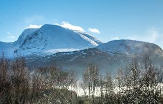 Ben Nevis from Banavie, Scotland   by peterclayton2512