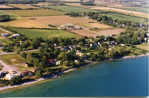 aerialphotography 1980s shoreline