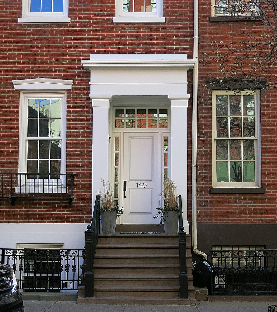 Waverly Place Townhouse: The $23.3 Million Front Door: 146 Waverly Place (1905), Gr