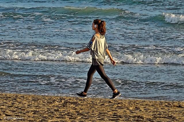 Walk on the beaches of Catalonia