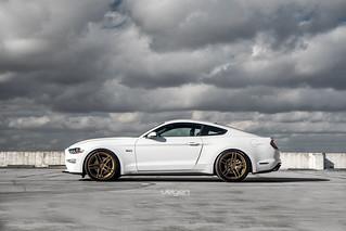 2018 Mustang Gt Velgen Wheels Split5 2018 Mustang Gt On Ve
