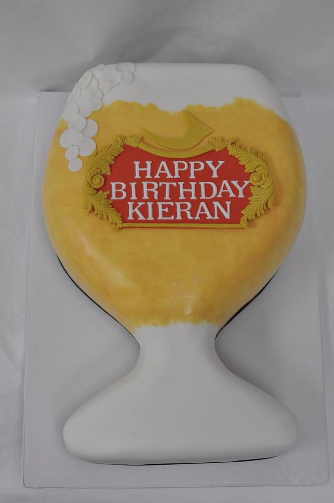 Enjoyable Beer Glass Birthday Cake Jenny Wenny Flickr Funny Birthday Cards Online Sheoxdamsfinfo
