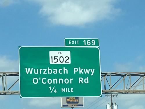 PA 1502, Wurzbach Parkway | by US 89