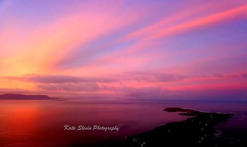 donegal ben bulbin st johns point sunrise beach water sky ireland sunset landscape seascape mountains lakes woodland