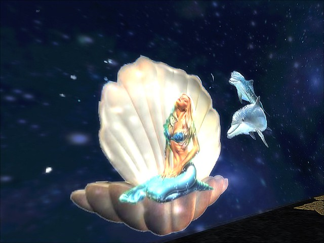 Tunnel of Love Ride - Mermaid On A Half Shell