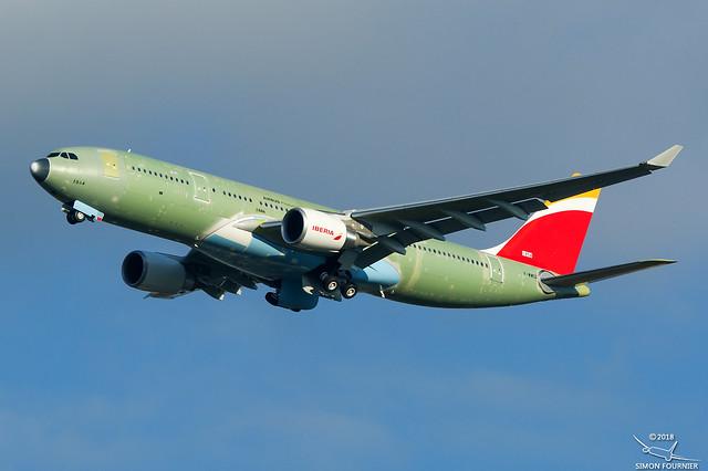 Airbus A330-200 F-WWCQ