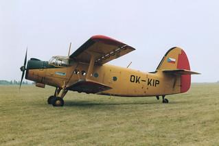 OK-KIP An-2 @ Letňany 14-09-1991