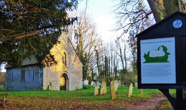 St Bartholomew's (Old) Church, Botley