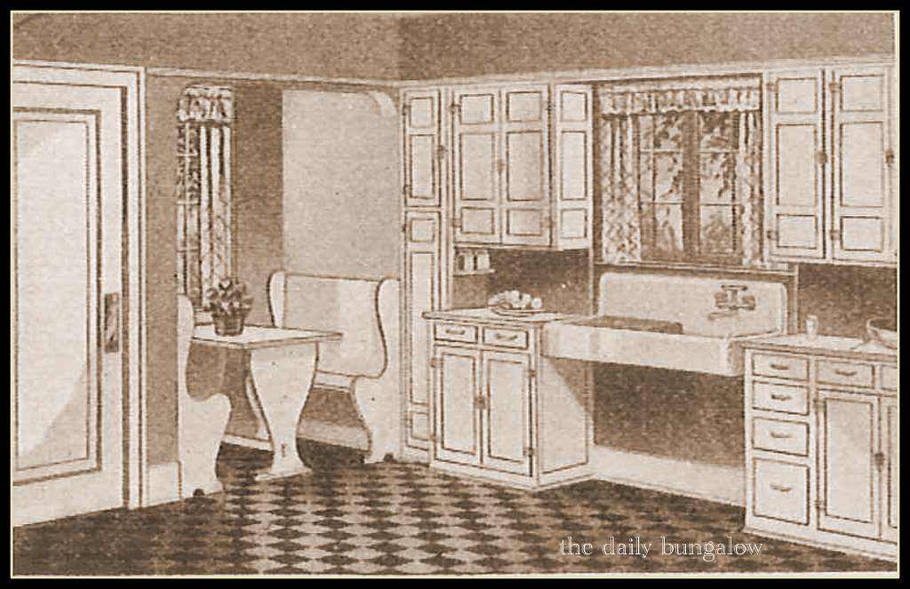 1938 Sears Modern Kitchen | Kitchen for your Sears Kit Home ...