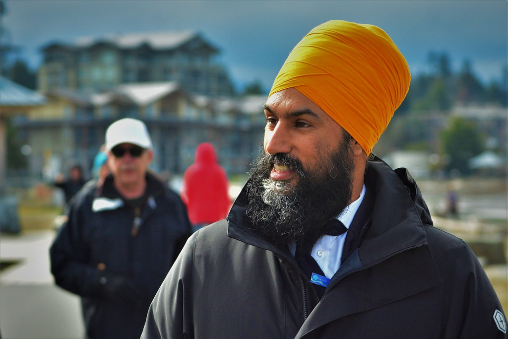 Jagmeet Singh Party leader of New Democratic Party, Parksville Beach Jagmeet and greet