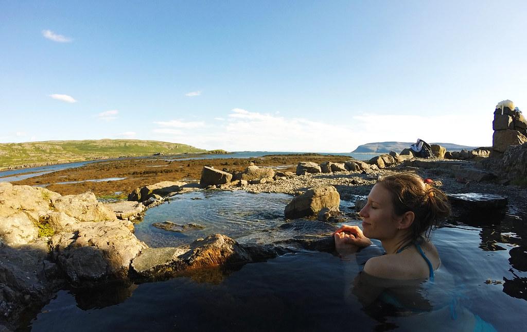 Natural Hot Pools In Iceland: Hellulaug, Westfjords, Iceland