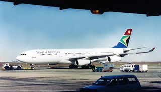 South African Airways A340-212 ZS-SLB